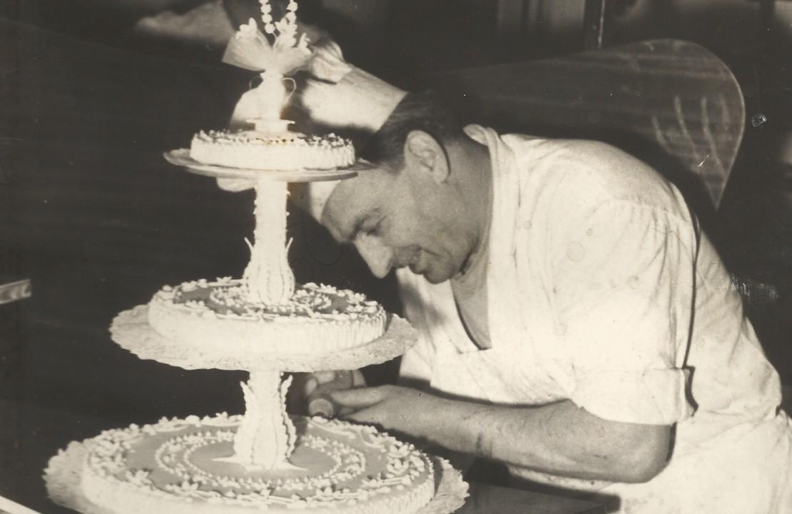 Enrico Castelnuovo in una foto storica nel 1960